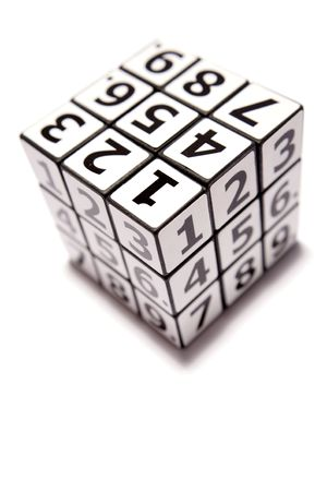 Numbers puzzle Stock Photo - 3716935