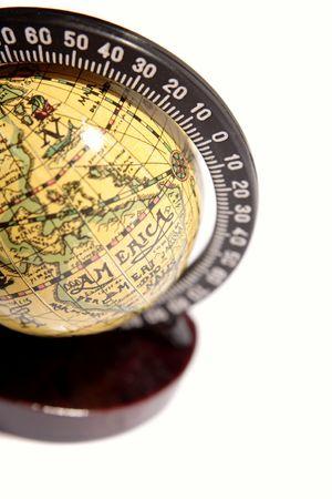 antique: Antique globe Stock Photo