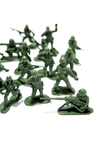 Toy soldiers photo