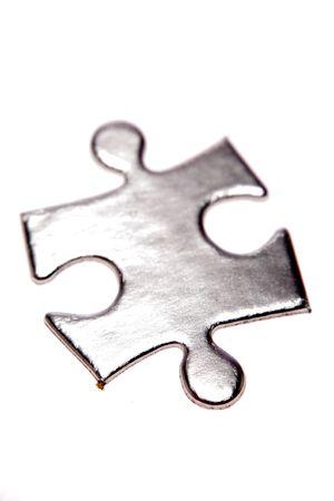 Jigsaw puzzle piece Stock Photo - 3798175