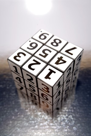 Numbers puzzle Stock Photo - 4057529