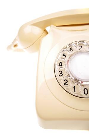 rotary dial telephone: Rotary tel�fono Foto de archivo