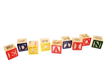 Alphabet learning blocks Stock Photo - 4139023