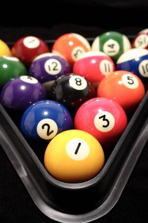 Pool balls photo