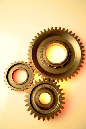 interlocked: Steel gears