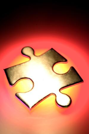 Jigsaw puzzle piece Stock Photo - 4245108