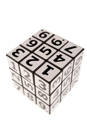 Numbers puzzle Stock Photo - 4273162