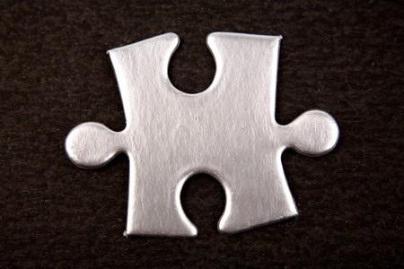 Jigsaw puzzle piece Stock Photo - 4293717