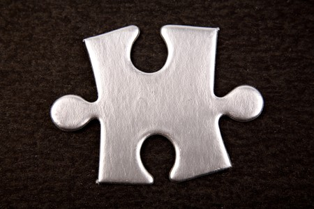 Jigsaw puzzle piece Stock Photo - 4293717