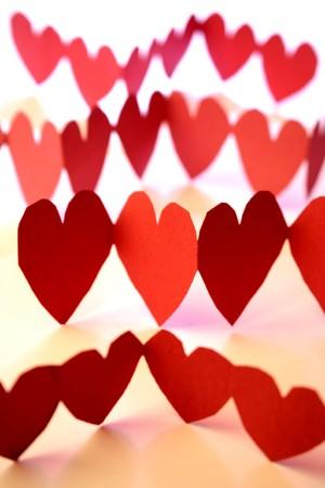 analog�a: Amor corazones