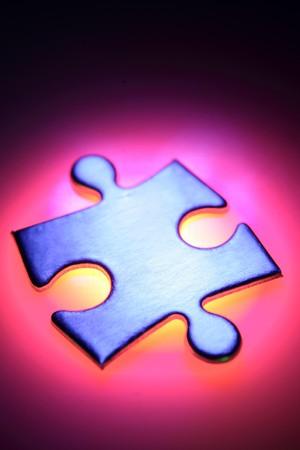 Jigsaw puzzle piece Stock Photo - 4384717