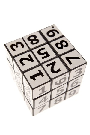 Numbers puzzle photo