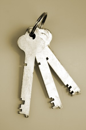 keyring: Three keys on keyring