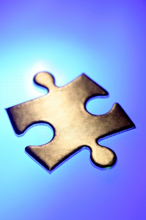 Jigsaw puzzle piece Stock Photo - 4528925