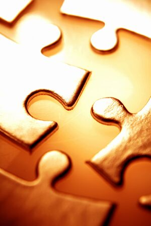 Jigsaw puzzle pieces Stock Photo - 4528920