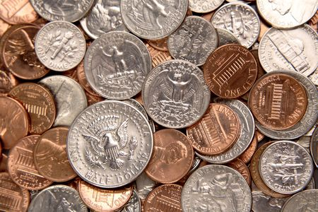 American coins Stock Photo - 4638203