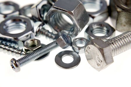 Nuts and bolts Stock Photo - 4638189