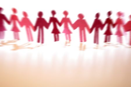 Couples holding hands together Stock Photo - 4657026