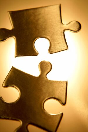Jigsaw puzzle pieces Stock Photo - 4674905