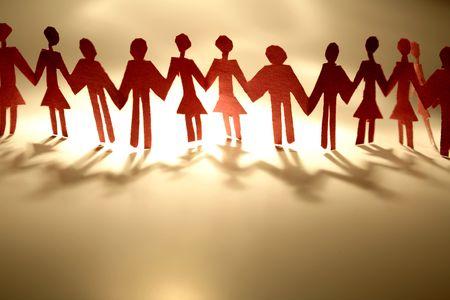 anonyme: Les couples se tenant par la main en m�me temps