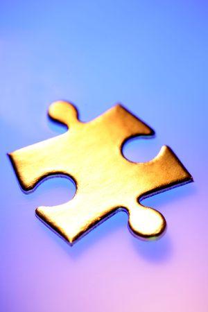 Jigsaw puzzle piece Stock Photo - 4740913