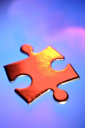 Jigsaw puzzle piece Stock Photo - 4759309