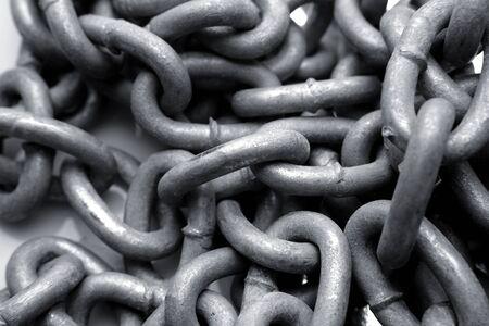 chainlinks: Steel chain