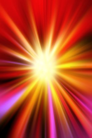 ray light: Bright abstract colorful background Stock Photo