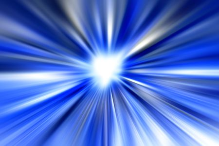 streaked: Bright abstract blue and white streaked background