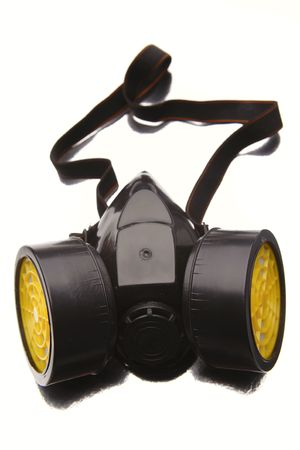 Respirator isolated over white background Stock Photo - 5206329