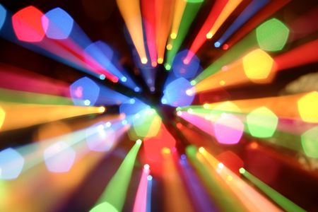 streaks of light: Abstract colorful background