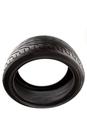 Tire isolated over white background Stock Photo - 5278212