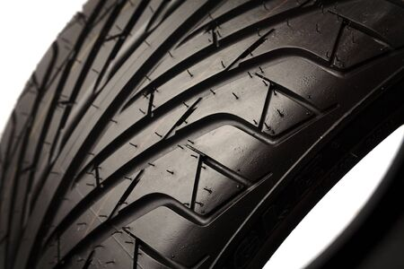 Closeup of brand new tire Stock Photo - 5292480