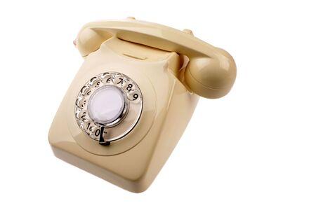 rotary dial telephone: Tel�fono de l�nea de Rotary