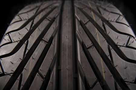 Closeup of tire tread Stock Photo - 5350653