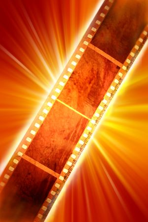 of yesteryear: Filmstrip Stock Photo