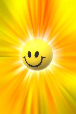 feeling up: Happy face
