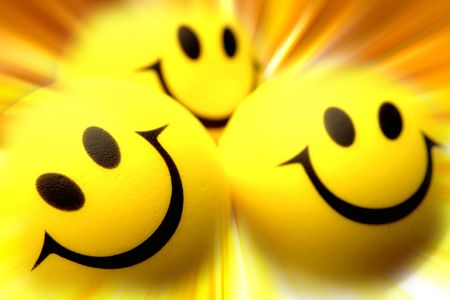 pleased: Smiling faces