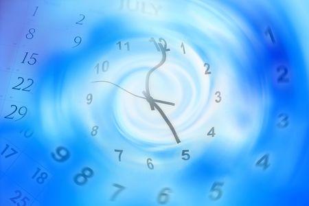 warped: Time concept