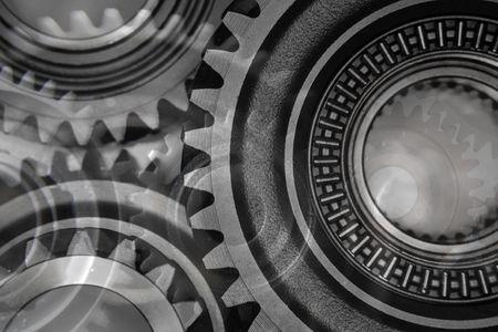 interlink: Montage of various steel gears