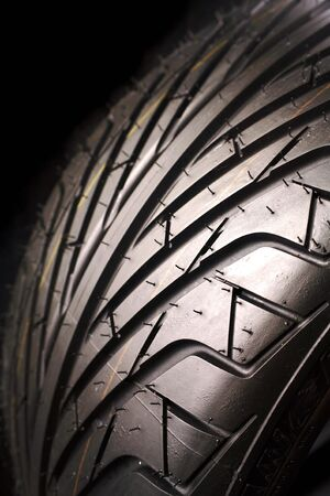 Closeup of tire    Stock Photo - 5702773