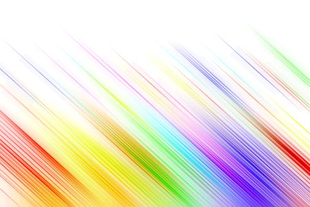 Colorful streaks on white background. photo