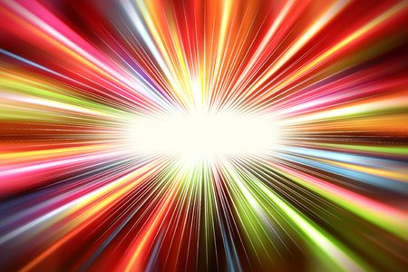 Abstract colorful light streaks background photo