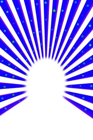 streaked: Bright blue streaked background