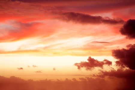 Soft colors in a beautiful sky. Stock Photo - 6062504