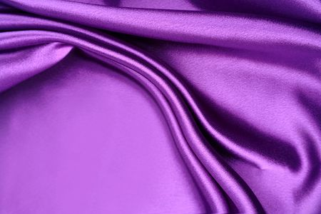 purple silk: Pliegues en tejido de seda color p�rpura. Copiar el espacio  Foto de archivo