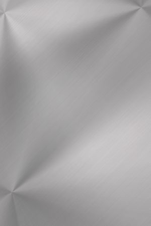 Brushed steel background. Copy space Stock Photo - 6196802