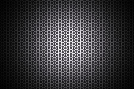 speaker grill: Light glow on grill pattern   Stock Photo
