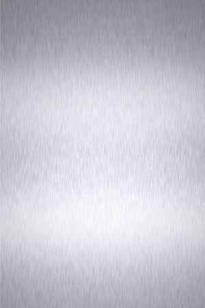 Shiny brushed steel background photo