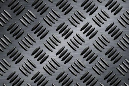 armour plating: Diamond plate steel pattern    Stock Photo